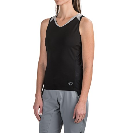 Pearl Izumi Launch Cycling Jersey - Sleeveless (For Women) in Black
