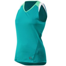 Pearl Izumi Launch Cycling Jersey - Sleeveless (For Women) in Deep Lake - Closeouts