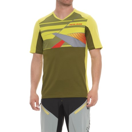 Pearl Izumi Launch Mountain Bike Jersey (For Men) - Save 76% babb59e0c