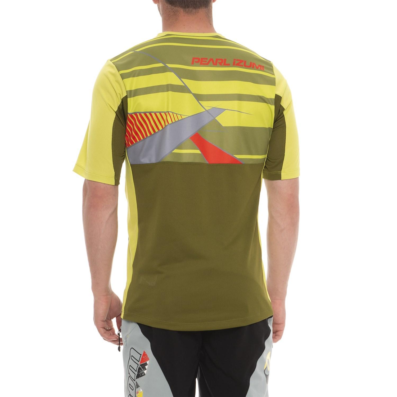 Pearl Izumi Launch Mountain Bike Jersey (For Men) - Save 76% babb59e0c