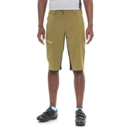 Pearl Izumi Launch Mountain Bike Shorts (For Men) in Avocado / Black - Closeouts