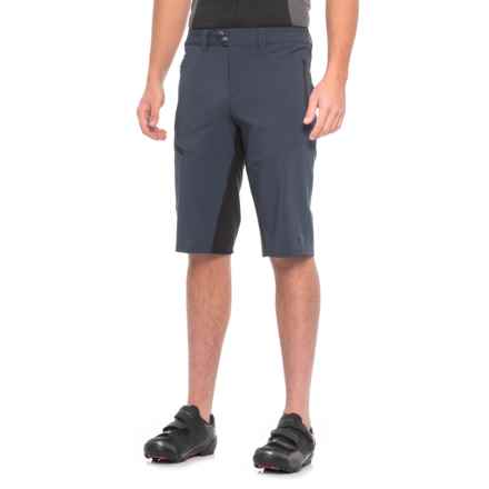 Pearl Izumi Launch Mountain Bike Shorts (For Men) in Eclipse Blue / Black - Closeouts