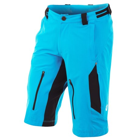 Pearl Izumi Launch Mountain Bike Shorts (For Men) in Electric Blue/Black
