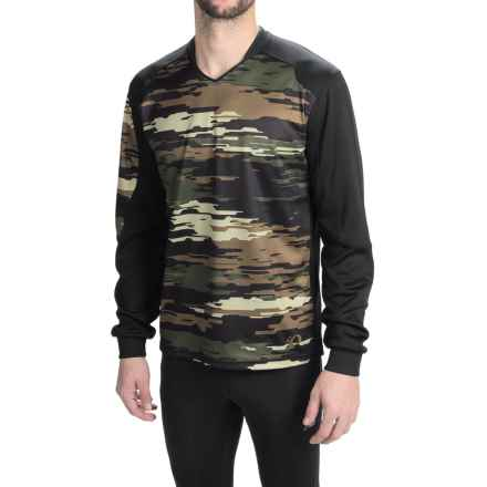 Pearl Izumi Launch Thermal Mountain Bike Jersey - Long Sleeve (For Men) in Black - Closeouts