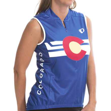 Pearl Izumi Limited Edition Cycling Jersey - Sleeveless (For Women) in Colorado 15 - Closeouts