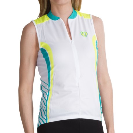 Pearl Izumi Limited Edition Cycling Jersey - Sleeveless (For Women) in Scuba Blue Racer