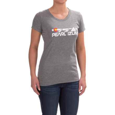 Pearl Izumi Limited Edition Graphic T-Shirt - Short Sleeve (For Women) in Flatirons Grey - Closeouts