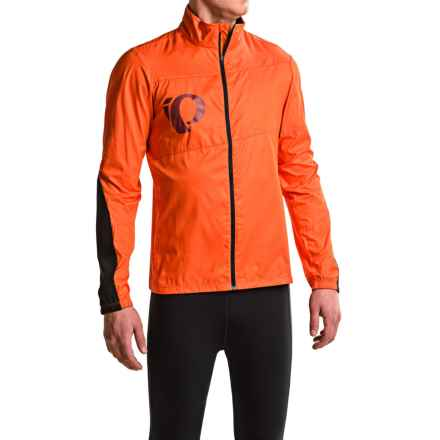 Pearl Izumi MTB Barrier Cycling Jacket (For Men) in Red Orange - Closeouts