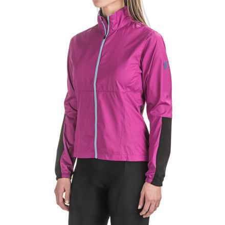 Pearl Izumi MTB Barrier Cycling Jacket (For Women) in Purple Wine - Closeouts