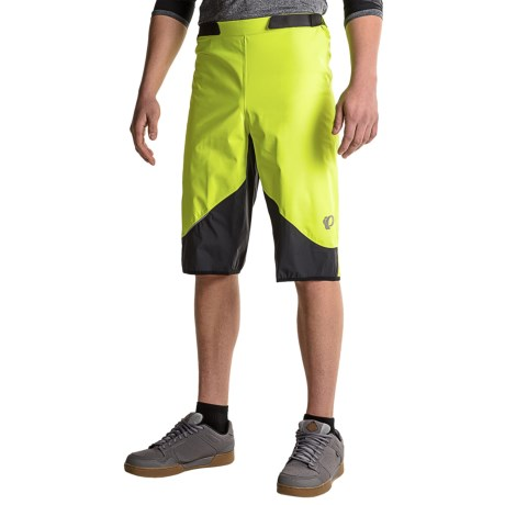 Pearl Izumi MTB WxB Bike Shorts - Waterproof (For Men) in Screaming Yellow