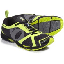 Pearl Izumi Peak II Trail Running Shoes (For Men) in Black/Screaming Yellow - Closeouts