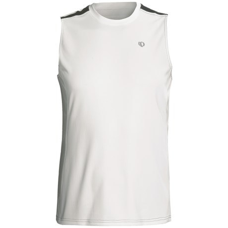 Pearl Izumi Phase Singlet Top (For Men) in White/Black
