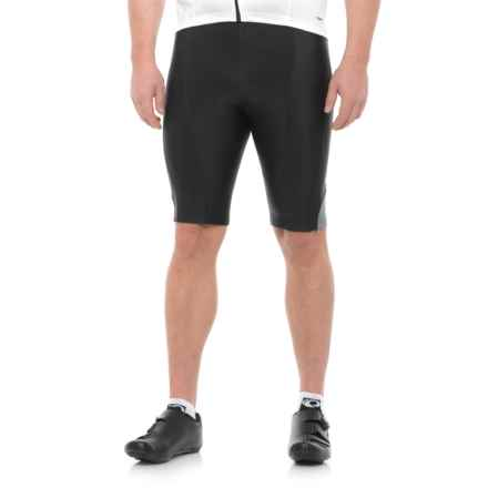 Pearl Izumi Podium Bike Shorts (For Men) in Black/Smoked Pearl - Closeouts