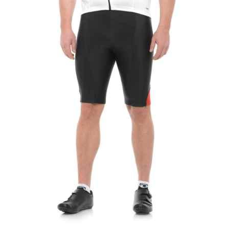 Pearl Izumi Podium Bike Shorts (For Men) in Black/True Red - Closeouts