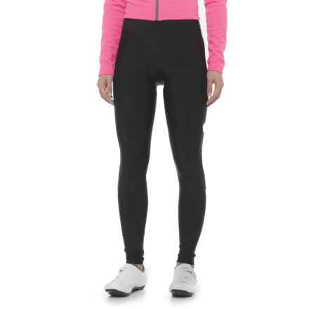 Pearl Izumi Podium Cycling Tights (For Women) in Black/Screaming Pink - Closeouts