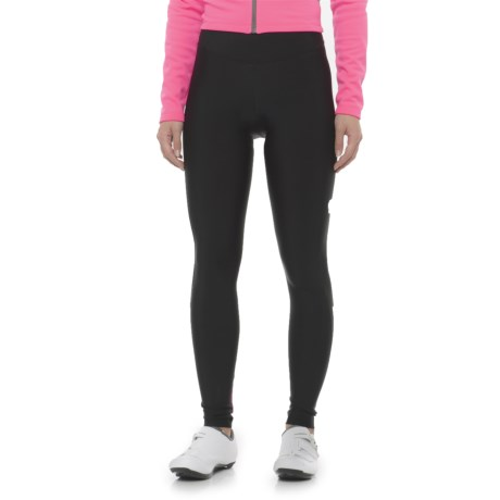 Pearl Izumi Podium Cycling Tights (For Women) in Black/Screaming Pink