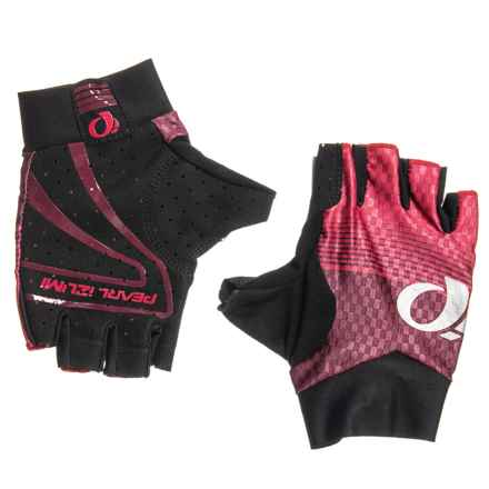 Pearl Izumi P.R.O. Aero Bike Gloves (For Men and Women) in Rogue Red Diffuse - Closeouts