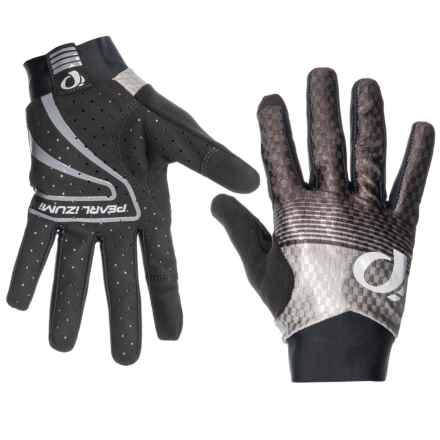 Pearl Izumi P.R.O. Aero Full-Finger Gloves (For Men and Women) in Black Diffuse - Closeouts
