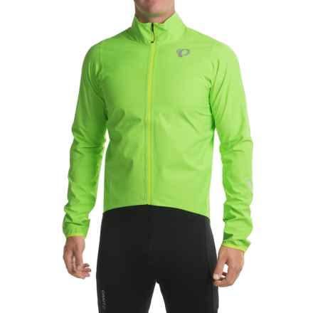 Pearl Izumi P.R.O. Aero WxB Cycling Jacket - Waterproof (For Men) in Screaming Green - Closeouts