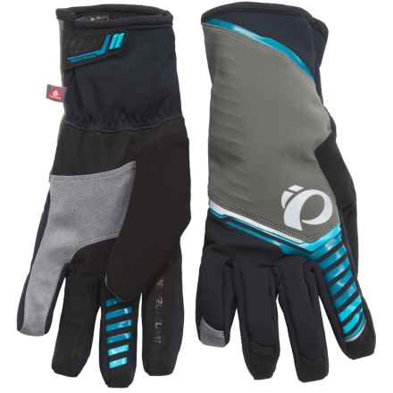 Pearl Izumi P.R.O. AmFIB® Gloves - Insulated (For Men) in Shadow Grey - Closeouts