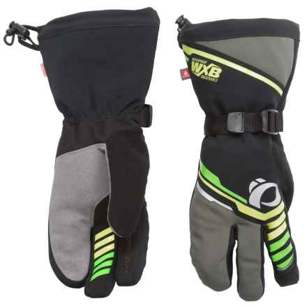 Pearl Izumi P.R.O. AmFIB® Super Gloves - Waterproof, Insulated (For Men and Women) in Black - Closeouts