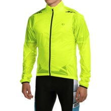 Pearl Izumi P.R.O. Barrier Lite Cycling Jacket - Ultralight (For Men) in Screaming Yellow/Black - Closeouts