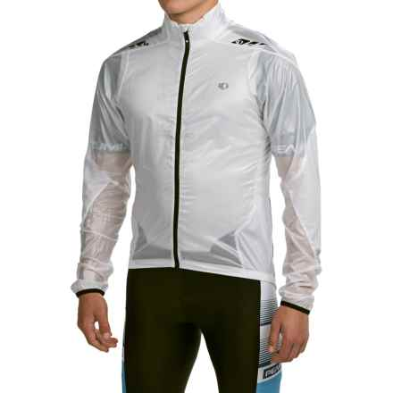 Pearl Izumi P.R.O. Barrier Lite Cycling Jacket - Ultralight (For Men) in White - Closeouts