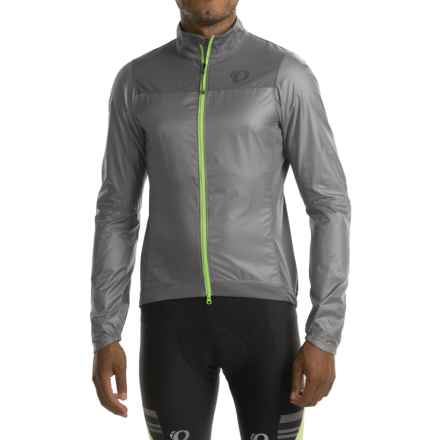 Pearl Izumi P.R.O. Barrier Lite Jacket (For Men) in Monument/Smoked Pearl - Closeouts