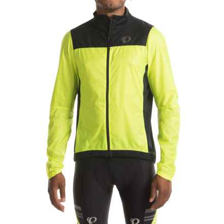 Pearl Izumi P.R.O. Barrier Lite Jacket (For Men) in Screaming Yellow/Black - Closeouts
