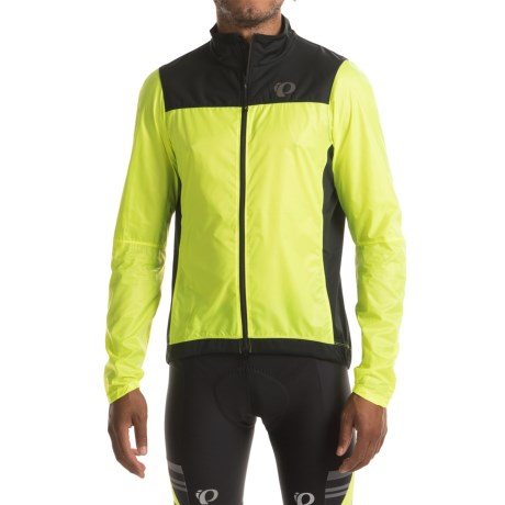 Pearl Izumi P.R.O. Barrier Lite Jacket (For Men) in Screaming Yellow/Black