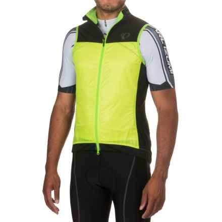 Pearl Izumi P.R.O. Barrier Lite Vest (For Men) in Screaming Yellow/Black - Closeouts