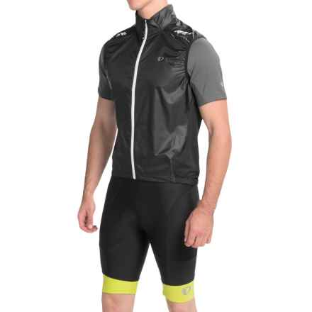 Pearl Izumi P.R.O. Barrier Lite Vest - Ultra Lightweight (For Men) in Black/Black - Closeouts