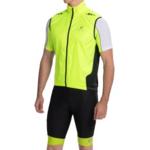 Pearl Izumi P.R.O. Barrier Lite Vest - Ultra Lightweight (For Men) in Screaming Yellow/Black - Closeouts