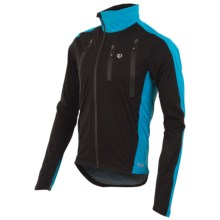 Pearl Izumi P.R.O. Barrier WXB Jacket - Waterproof (For Men) in Black/Electric Blue - Closeouts