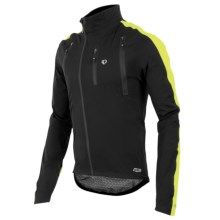 Pearl Izumi P.R.O. Barrier WXB Jacket - Waterproof (For Men) in Black/Screaming Yellow - Closeouts