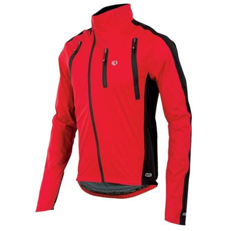 Pearl Izumi P.R.O. Barrier WXB Jacket - Waterproof (For Men) in True Red/Black