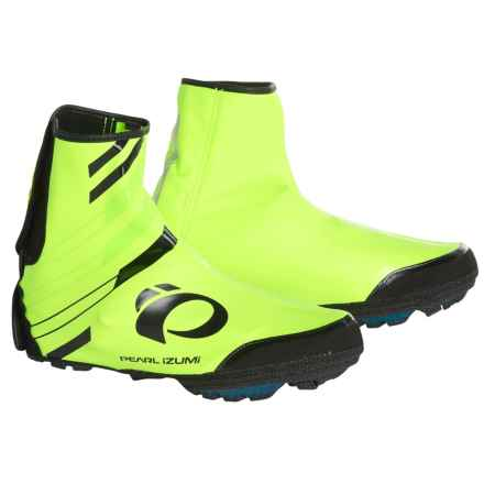 Pearl Izumi P.R.O. Barrier WxB MTB Shoes Cover in Screaming Yellow - Closeouts