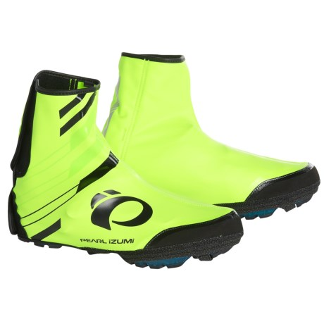 Pearl Izumi P.R.O. Barrier WxB MTB Shoes Cover in Screaming Yellow