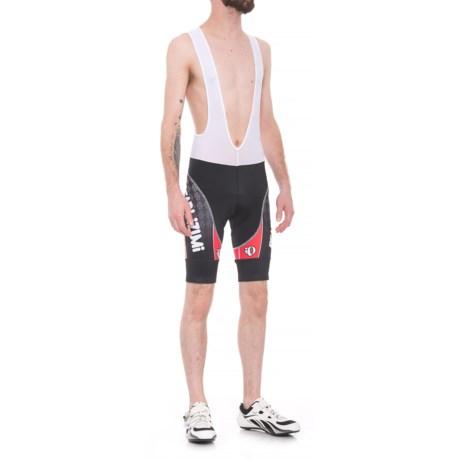 Pearl Izumi P.R.O. Custom Speed Bib Shorts (For Men) in White/Black/Red