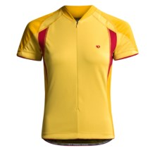 Pearl Izumi P.R.O. Cycling Jersey - Short Sleeve (For Women) in Mango/Moab - Closeouts