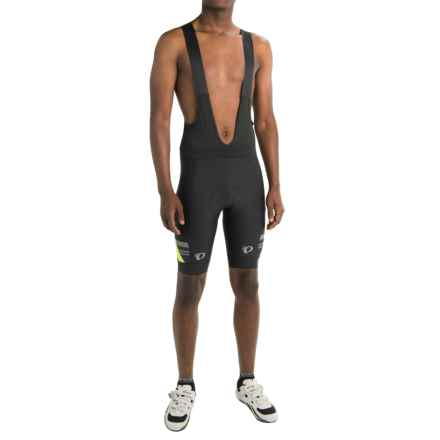 Pearl Izumi P.R.O. Escape Bib Cycling Shorts (For Men) in Black/Screaming Yellow - Closeouts