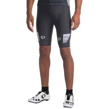 Pearl Izumi P.R.O. Escape Bike Shorts (For Men) in Black/Smoked Pearl - Closeouts