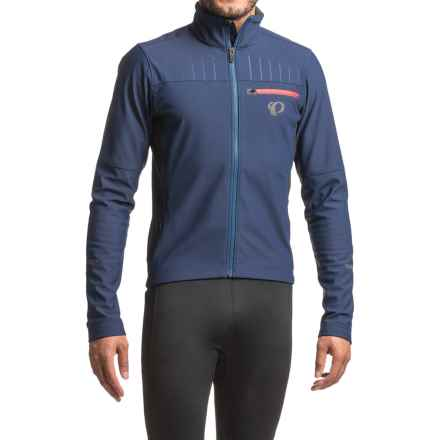 Pearl Izumi P.R.O. Escape Soft Shell Jacket (For Men) in Blue Depths/Black - Closeouts