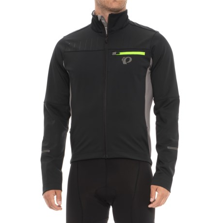 Pearl Izumi P.R.O. Escape Softshell Jacket (For Men) in Black/Smoked Pearl