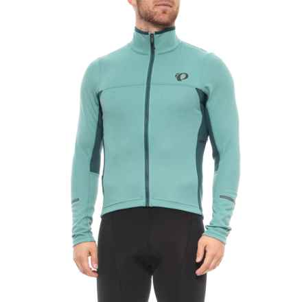 Pearl Izumi P.R.O Escape Thermal Cycling Jersey - Full Zip, Long Sleeve (For Men) in Arctic/Midnight Navy - Closeouts