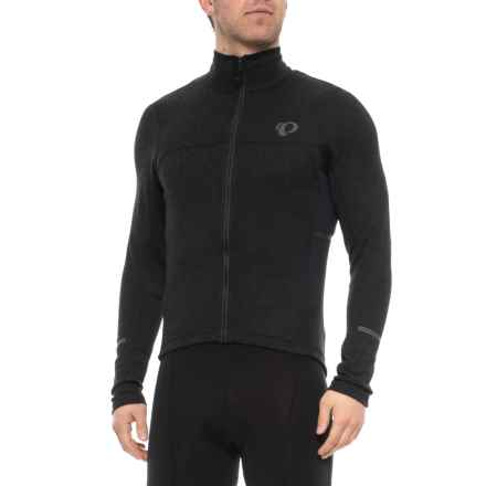 Pearl Izumi P.R.O Escape Thermal Cycling Jersey - Full Zip, Long Sleeve (For Men) in Black - Closeouts