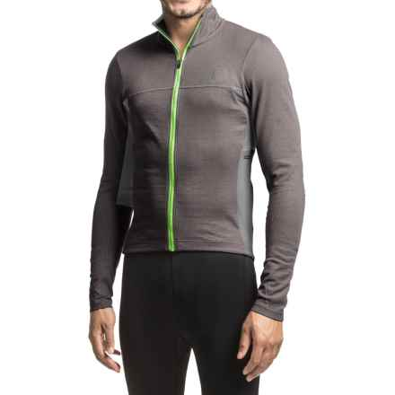 Pearl Izumi P.R.O Escape Thermal Cycling Jersey - Full Zip, Long Sleeve (For Men) in Smoked Pearl - Closeouts