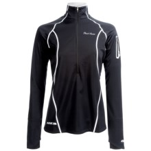 Pearl Izumi P.R.O. Fly Evo Pullover Jacket - Zip Neck (For Women) in Black - Closeouts
