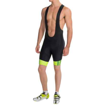 Pearl Izumi P.R.O. In-R-Cool® Cycling Bib Shorts (For Men) in Screaming Yellow/Black - Closeouts