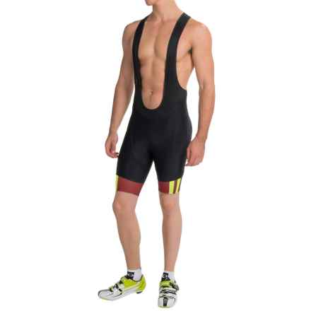 Pearl Izumi P.R.O. In-R-Cool® Cycling Bib Shorts (For Men) in Tibetan Lime - Closeouts